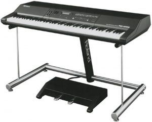 play music on roland digital piano